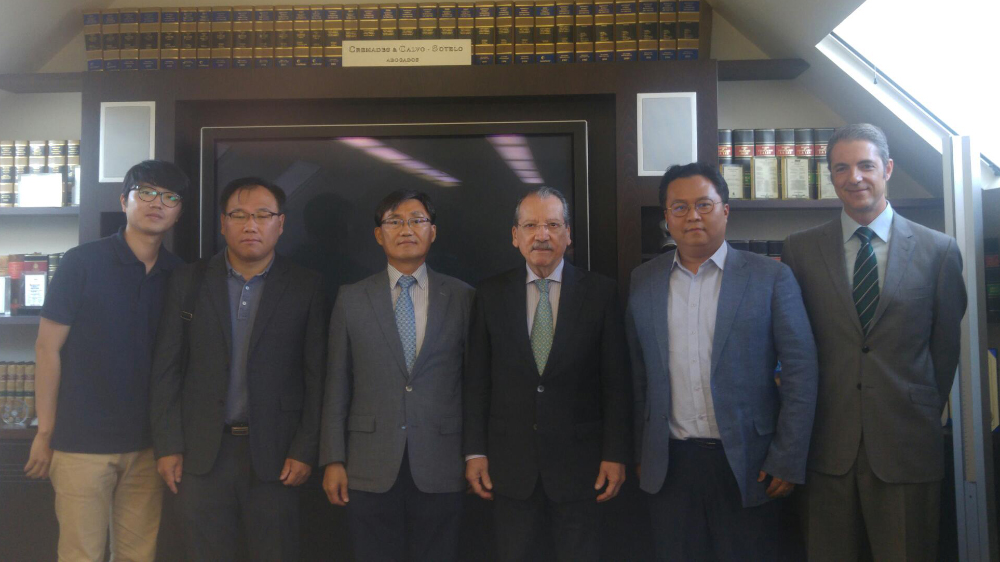 The Spanish-Korean Chamber of Commerce received a visit from Korea Technology and Information Promotion Agency for SMEs (TIPA)
