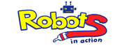 ROBOTS IN ACTION LOGO