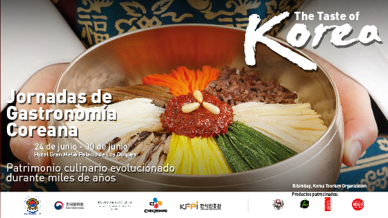The Embassy of Korea in Spain inaugurated the Korean Gastronomic Days